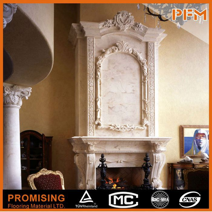 Reasonable price engineered stone fireplace buy for Engineered fireplace