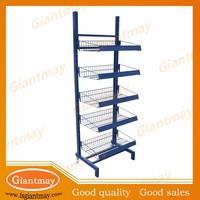 metal bread display rack