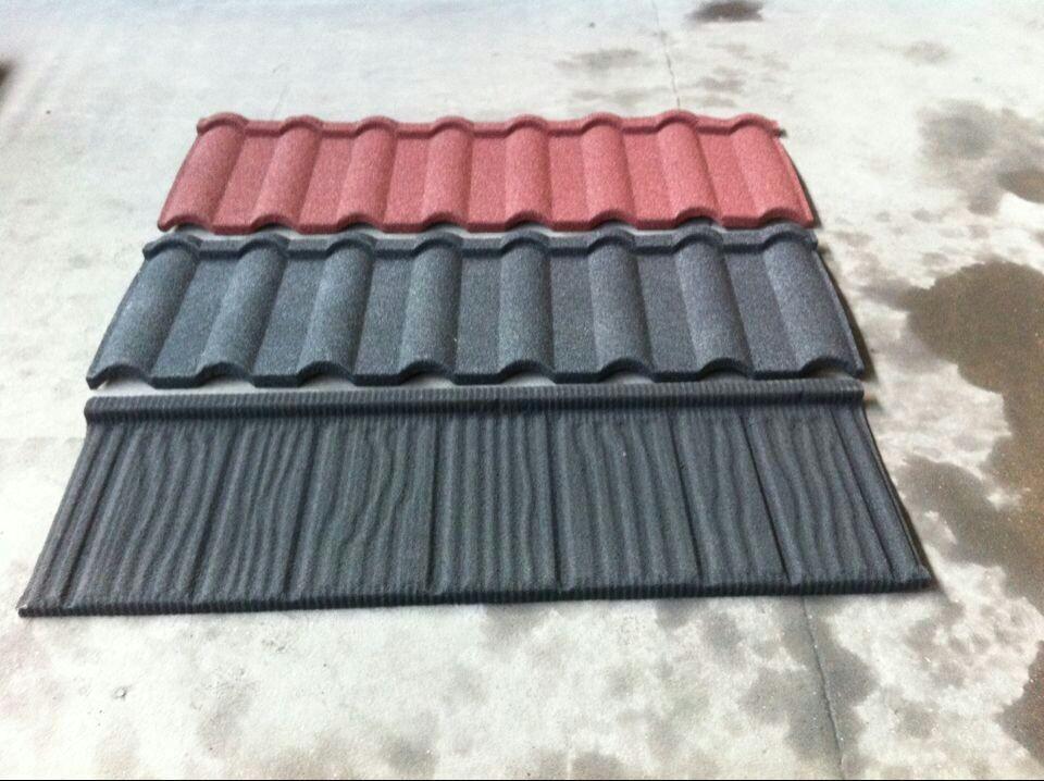 Hochbau Material Dekorative Stein Beschichtetem Metall
