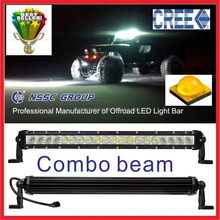 Factory direct wholesale 18w to 240w tractor led light bar 12v 24v for automoblies