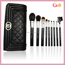 BUY IT NOW! Core Collection Make Up Brush Set Kit with quilting handle carry evening bag