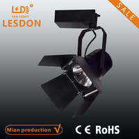 led track light 35w shop window track light led high power led track lighting commercial lamp