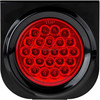 4 inch Round LED Light STOP/TURN/TAIL light 24 volt led truck light