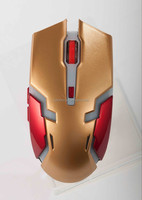 Most Fashionable Top Quality Drivers Usb Optical Mouse iron man Wireless Mouse