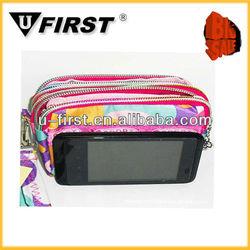 Lady fashion wallet money bag, cell phone bag, wrist wallet bag wholesale