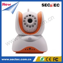 CCTV Home IP Camera P2P Wireless Wired Indoor SD Card Camera