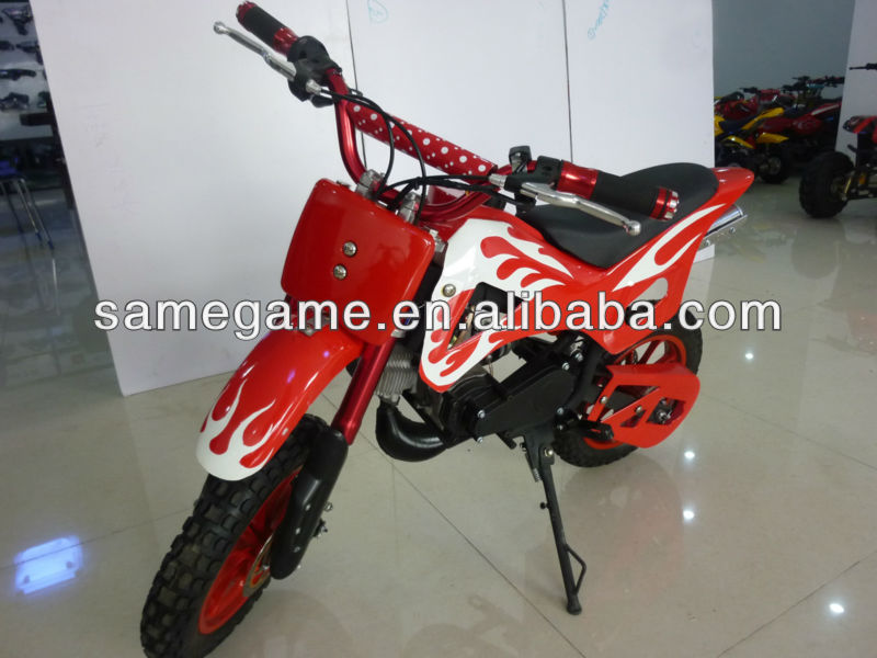 49cc 2 stroke Mini off road kids dirt bike 49-3 with CE approval