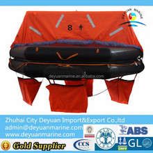 8 Person GL Approval Self Inflating Life Raft