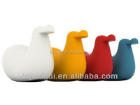 Fashionable design fiberglass duck shape chair by Oiva Toikka