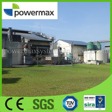 empty fruit bunch(EFB) biomass gasifier power generation