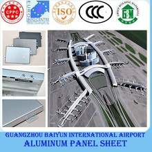 CCC standard aluminum panel building construction material
