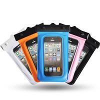 "Bingo Waterproof Underwater Mobile Phone Bag 5.0"" Material PVC for smartphone"