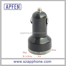 2012 popular 12v 2a output usb car charger which USB output is 5V,2.1A