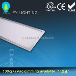 High lumen 277v DLC UL listed dimmable 2ft x 4ft led panel light