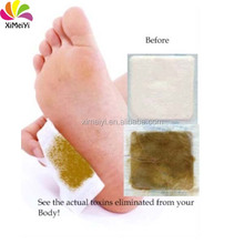 New product from china market! wholesale bamboo vinegar jungong detox foot patch