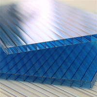 High quality black hollow polycarbonate sheet used carports for sale