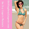 Blue Paisley Sexy Girls Beachwear Swimsuit hot sexi photo image