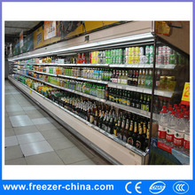 Best selling Luxuary Upright Open used supermarket refrigeration equipment