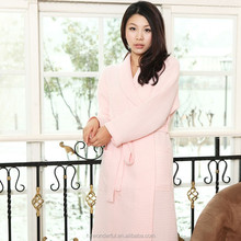 women and women sex pink waffle pajamas design for home and hotel wear