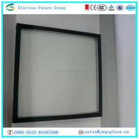 Glorious Future different color soft coating low-e double glazing glass