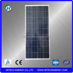 Hot sale 130w 135w 140w multi-crystalline solar panel