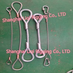 wire rope rigging/ Stainless steel wire rope/Leg Rigging