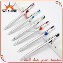 Silver Plastic Ballpoint Pen for Promotion Purpose