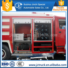 Truck type of 10ton inflatable fire truck factory sale