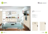 modular country style kitchen cabinet color door combinations