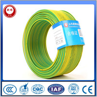 Copper Conductor Stranded Earth Cable Green Yellow Ground Wire