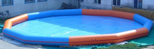 Large inflatable swimming pooll for swimming