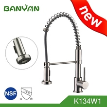 Single Handle Commercial Pull Down Kitchen Faucet