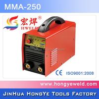 Super Quality IGBT DC 250 amp mma inverter arc welding machine
