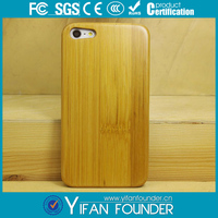 Bambom cell phone case /hot selling blank wood pc case for iphone 5s
