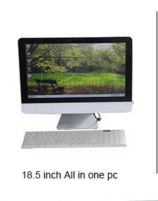 "support OEM 23.6"" Intel core quad core i3-4130 3.4Ghz 1080P all-in-one PC 4GB 500G1TB desktop laptop computer H61 all in one pc"
