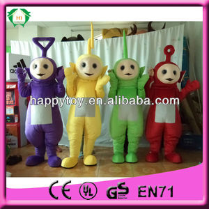 привет ce высокое качество дучшие продажи teletubby талисман костюм для взрослых