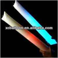 2012 hot selling high quality PE flashing LED cheering stick