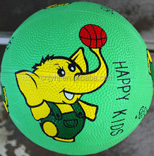 Fashionable classical composite material rubber basketball