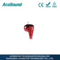 Programmable Mini ear sound amplifier hearing aid Acosound 610 Standard CIC,hearing aids for the elderly