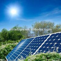 Mono solar panel 12v 100w