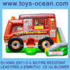 air mushroom bouncer game inflatable fire truck santa fire truck inflatable