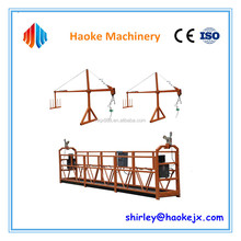 Small construction swing stage equipment