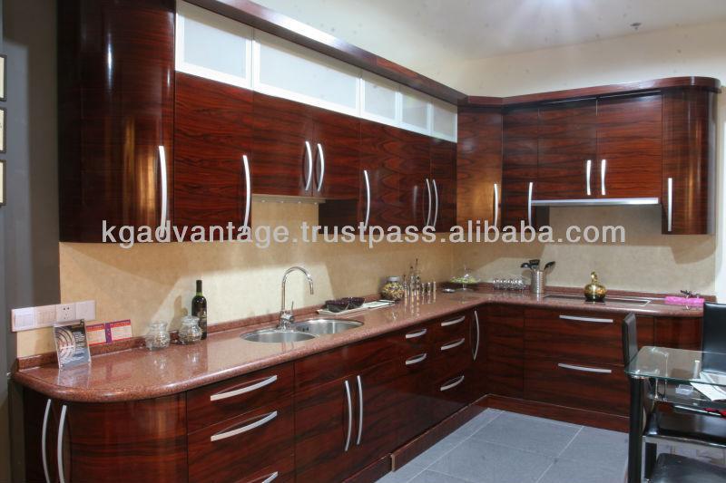 Wood Kitchen Cabinets Gloss Wood Kitchen Cabinets
