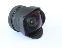 Fixed focus 8mm F3.5 super wide angel fisheye lens for Nikon& for Canon
