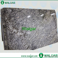 Flamed artic cream cheap granite slabs With High Quality