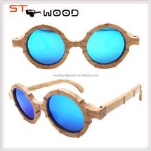 2015 new round vintage sunglasses cheap wood brand sunglasses unique wooden sunglasses