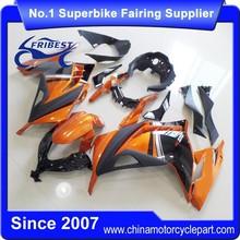 FFKKA002 Motorcycle Fairings For 300 2013 2014 Fairing Kit Orange And Black