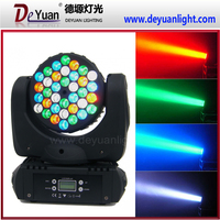 LCD display 36pcs 3w rgbw 4-in-1 led beam moving head mini party light