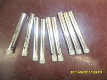 Diamond electroplated core drill bit for glass gemstone