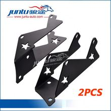 Export Quality Aluminum Black Led Mounting Fixtures Bracket For Jeep For Jeep Wrangler